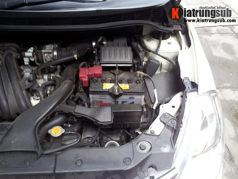 เปลี่ยนแบตเตอรี่รถยนต์ nissan - 3K แบตเตอรี่