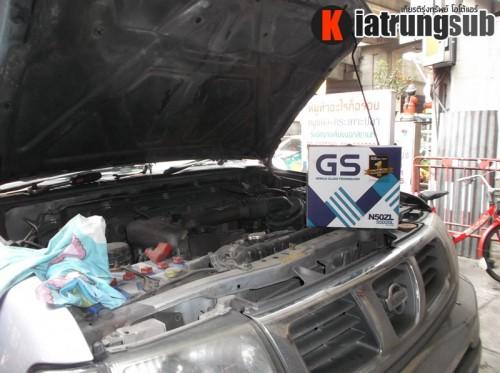 เปลี่ยนแบตเตอรี่รถยนต์ gs