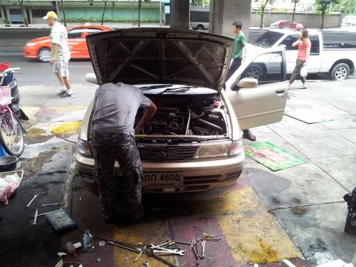 ซ่อมรถยนต์,เช็ครถยนต์