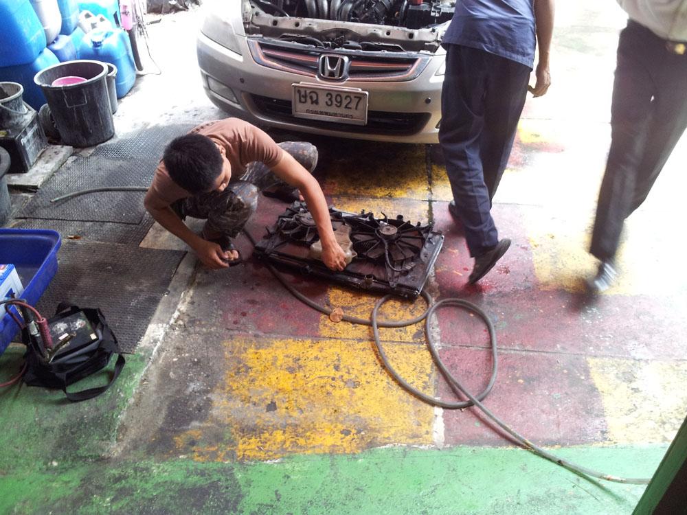 ซ่อมหม้อน้ำรถยนต์
