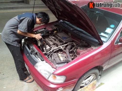 ซ่อมแอร์รถยนต์ nissan