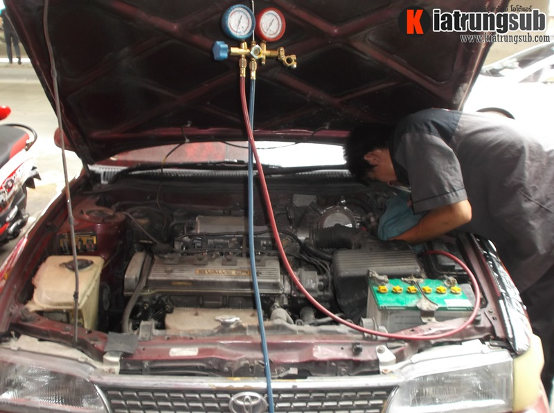 ซ่อมแอร์รถยนต์ โตโยต้า
